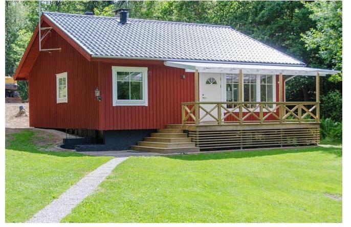 Ferienhaus Schweden mit Hund am See