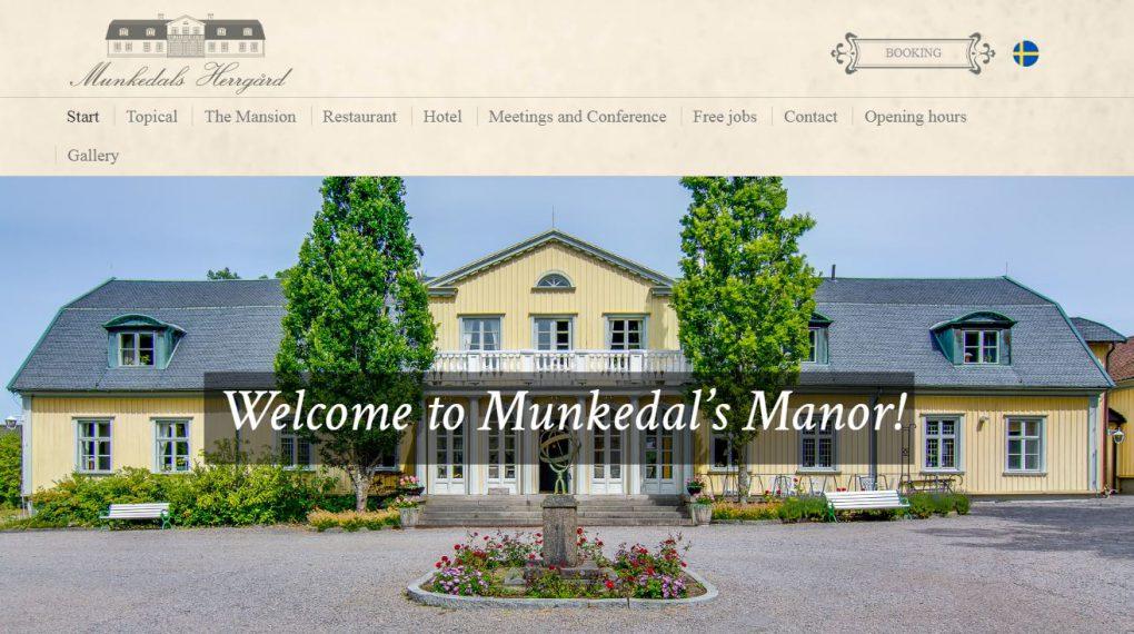 Herrenhaus in Munkedal