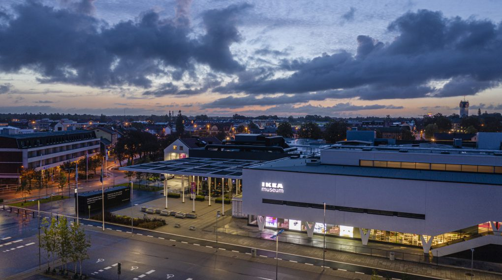 IKEA Museum in Älmhult Schweden