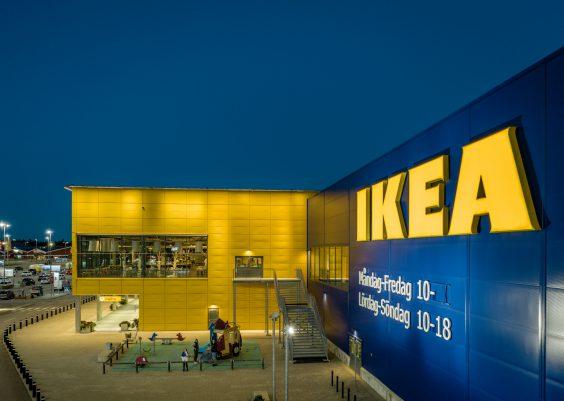 IKEA Erster Einrichtungshaus in der schwedischen Kleinstadt Älmhult