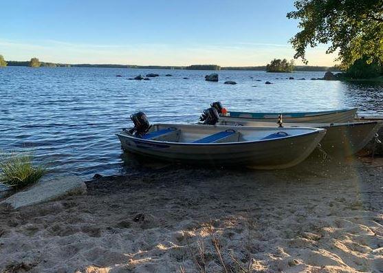 Luxus Ferienhaus Schweden für max 6 Personen Värnamo Småland See Vidöstern Schweden