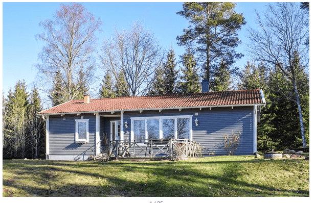 Ferienhaus in Südschweden Lekeryd Småland (Jönköpings län) für max. 6 Personen