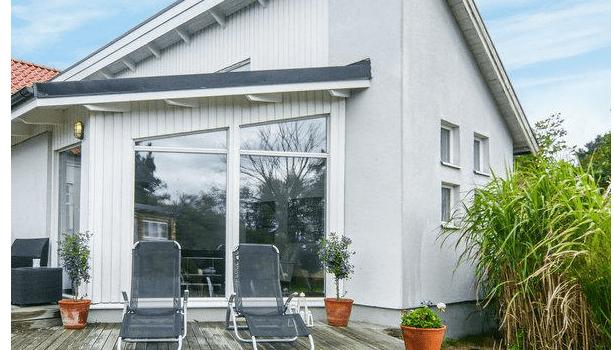 Trelleborg Ferienhaus in Schweden Wunderbares Penthouse in Simrishamn mit Blick auf das Meer für 8 Personen